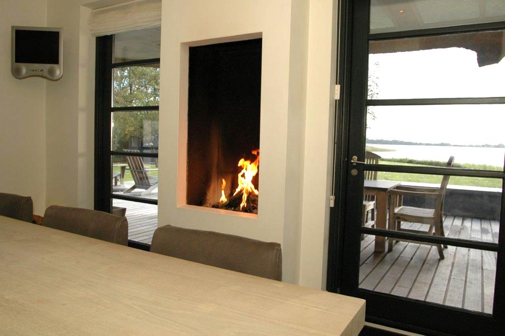 Cheminee design 6 tvs salons and deco - Deco moderne open haard ...