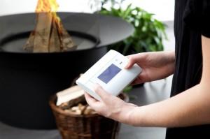 Afstandsbediening Rookgasventilator